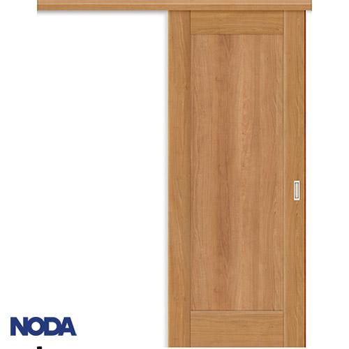 【NODA/ノダ】BINOIE(ビノイエ) アウトセット上吊り引き戸セット 【B-61型】室内ドア 内装ドア 片引戸 パネルタイプ