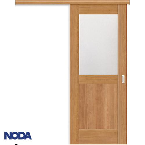 【NODA/ノダ】BINOIE(ビノイエ) アウトセット上吊り引き戸セット 【B-63型】室内ドア 内装ドア 片引戸 採光タイプ