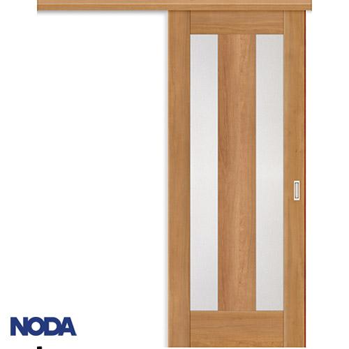 【NODA/ノダ】BINOIE(ビノイエ) アウトセット上吊り引き戸セット 【B-65型】室内ドア 内装ドア 片引戸 採光タイプ