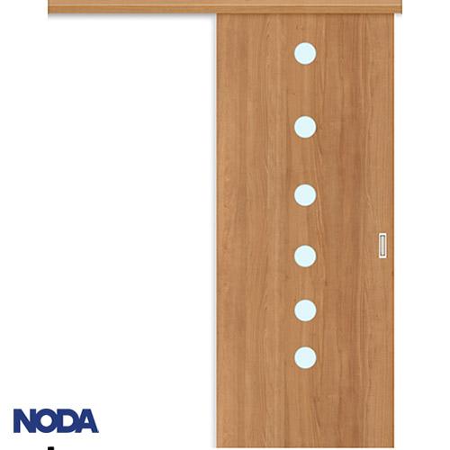 【NODA/ノダ】BINOIE(ビノイエ) アウトセット上吊り引き戸セット 【D-17型】室内ドア 内装ドア 片引戸 採光タイプ