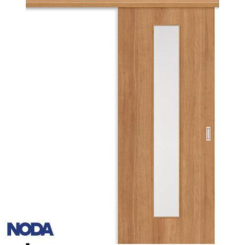 【NODA/ノダ】BINOIE(ビノイエ) アウトセット上吊り引き戸セット 【D-26型】室内ドア 内装ドア 片引戸 採光タイプ