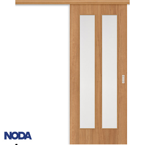 【NODA/ノダ】BINOIE(ビノイエ) アウトセット上吊り引き戸セット 【D-27型】室内ドア 内装ドア 片引戸 採光タイプ