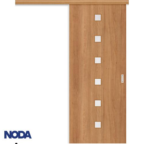 【NODA/ノダ】BINOIE(ビノイエ) アウトセット上吊り引き戸セット 【D-28型】室内ドア 内装ドア 片引戸 採光タイプ
