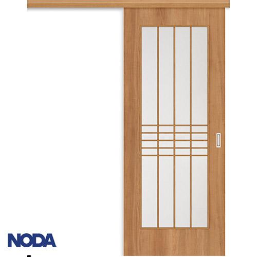 【NODA/ノダ】BINOIE(ビノイエ) アウトセット上吊り引き戸セット 【D-30型】室内ドア 内装ドア 片引戸 採光タイプ