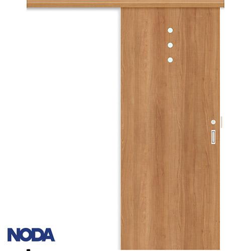 【NODA/ノダ】BINOIE(ビノイエ) アウトセット上吊り引き戸セット(表示錠・壁付鎌錠受け付) 【D-47型】室内ドア 内装ドア 片引戸