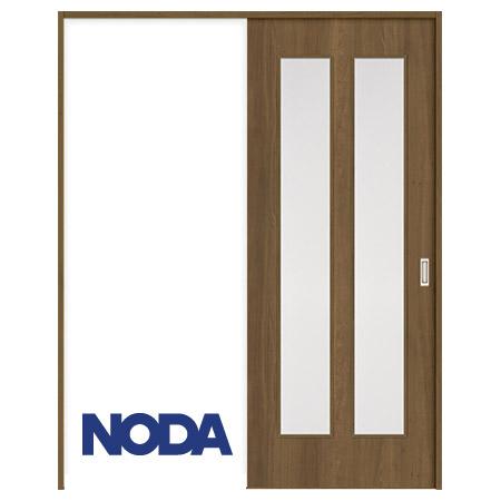 【NODA/ノダ】BINOIE(ビノイエ) 片引き吊り戸セット 【D-27型】室内ドア 内装ドア 上吊り引戸 採光タイプ 固定枠 リビングドア