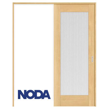 【NODA/ノダ】BINOIE(ビノイエ) 片引き吊り戸セット 【D-29型】室内ドア 内装ドア 上吊り引戸 採光タイプ 固定枠 リビングドア