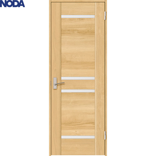 【NODA/ノダ】BINOIE(ビノイエ)片開きドアセット 【B-66型 固定枠/ケーシング枠】 室内ドア 内装ドア 丁番ドア シングルドア 扉 パネルデザイン