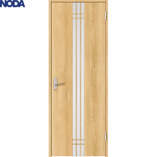 【NODA/ノダ】BINOIE(ビノイエ)片開きドアセット 【D-33型 固定枠/ケーシング枠】 室内ドア 内装ドア 丁番ドア シングルドア 扉 採光デザイン