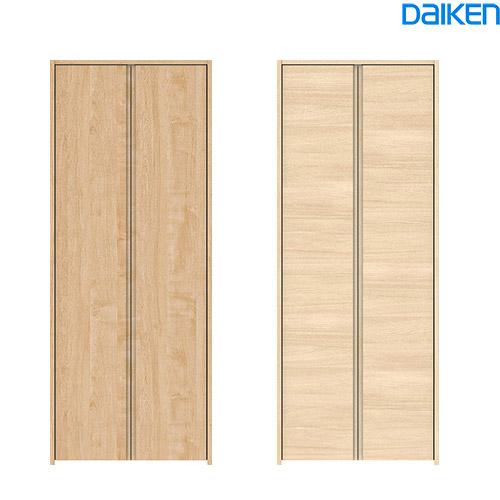 DAIKEN(大建工業) ハピア クローク収納収納開き戸 ハンドルレス 734幅三方枠(固定枠/見切枠)・1800高クロゼットドア(クローゼット扉)