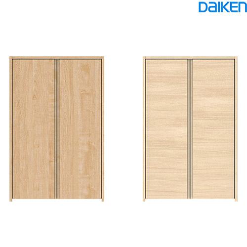 DAIKEN(大建工業) ハピア クローク収納収納開き戸 ハンドルレス 734幅三方枠(固定枠/見切枠)・900高クロゼットドア(クローゼット扉)
