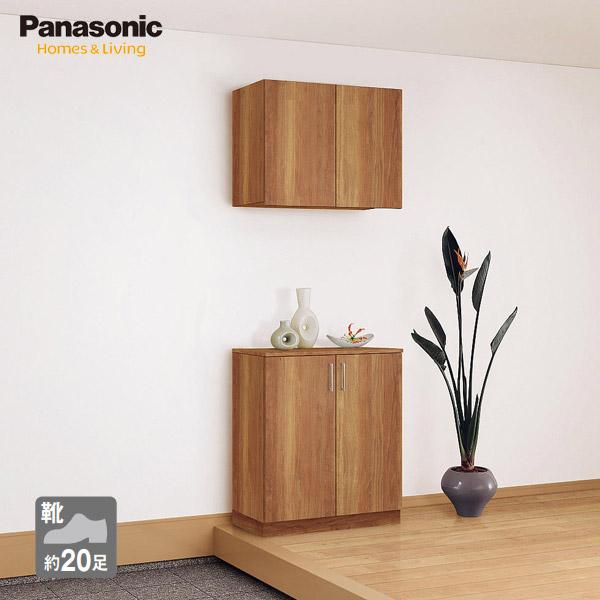 華麗 Panasonic ベリティス 玄関収納 コンポリア 800幅 セパレートプラン 据え置きタイプ フラットタイプ, ASH-LIFE de4b30ad