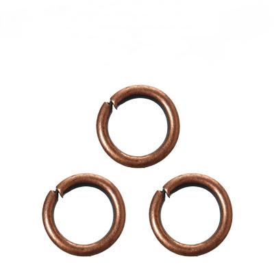 大特価 基礎金具 丸カン 1.5×12mm 約10個程度 約5グラム入 銅古美 特価キャンペーン