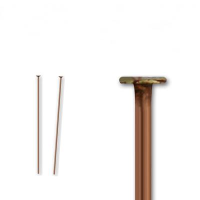 基礎金具 Tピン 0.7×20mm 半額 銅古美 約5グラム入 約55本程度 期間限定送料無料