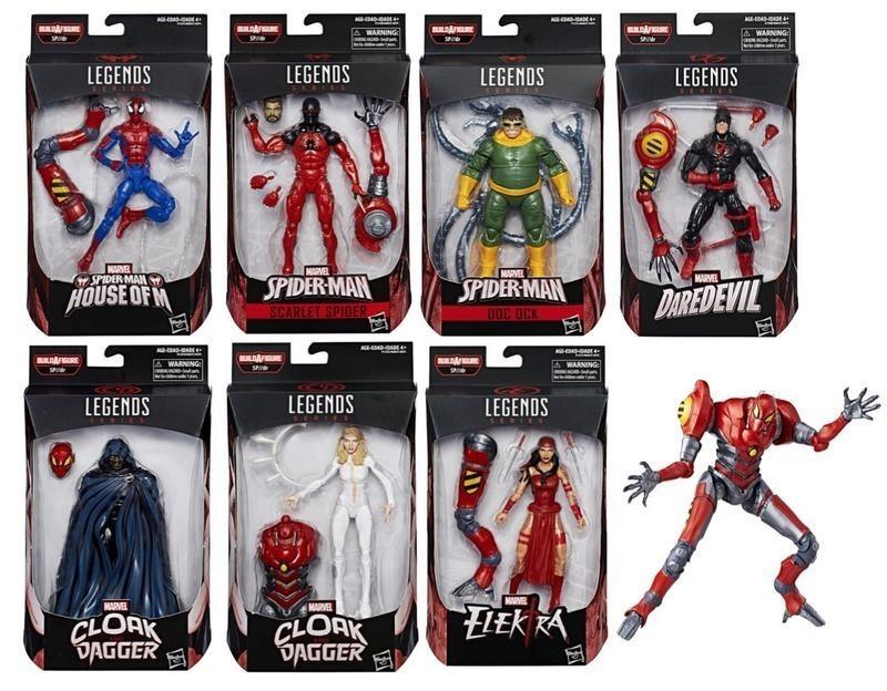 MARVEL legends  スパイダーマン SPIDER-MAN 7IN1 set セット
