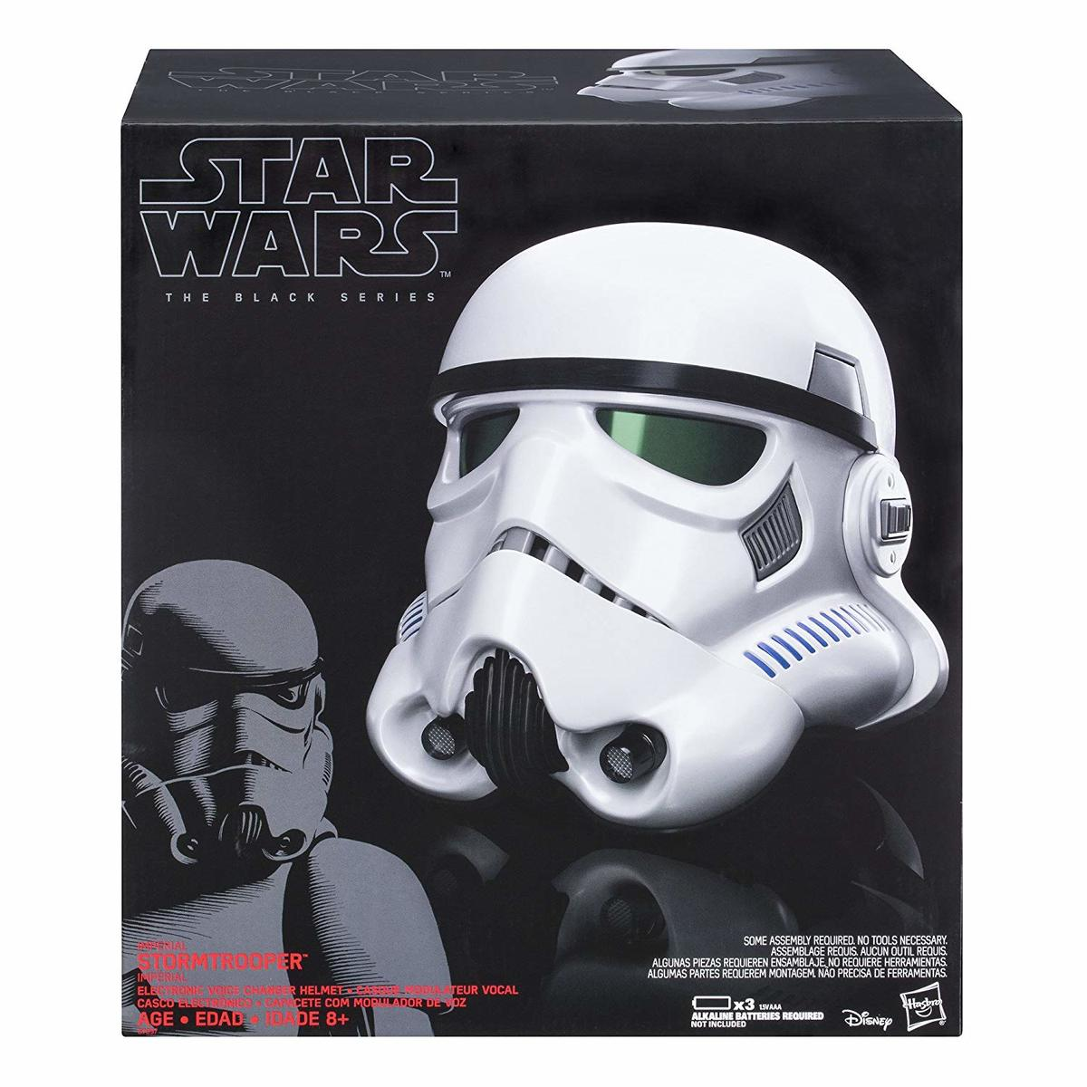 Star Wars The Black Series Imperial Stormtrooper Electronic Voice Changer Helmet並行輸入品