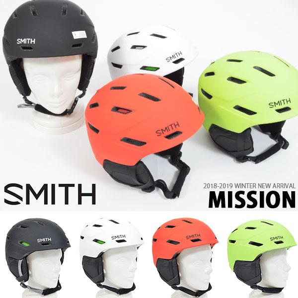 30%off 送料無料 ヘルメット SMITH OPTICS スミス Mission ミッション メンズ レディース スノボ スノー フリースタイル ヘルメット ギア 日本正規品