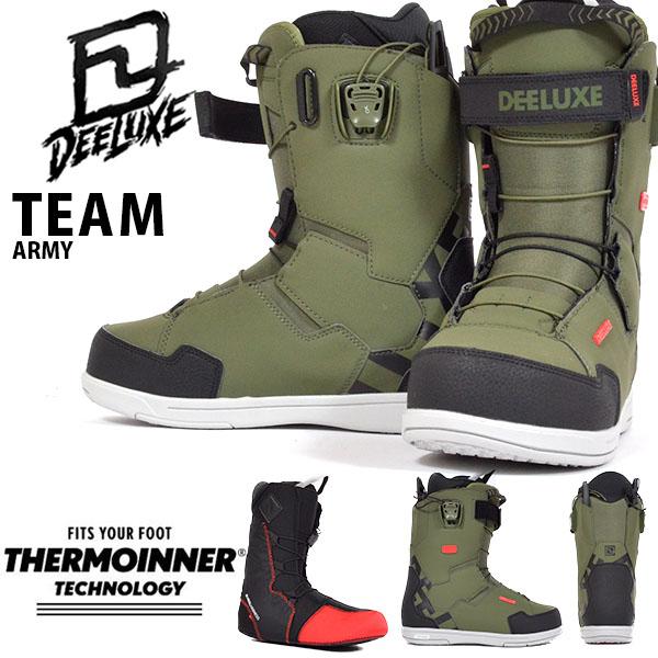 送料無料 ディーラックス DEELUXE スノーボード ブーツ ID Team TF アイディー チーム メンズ スノボ TF サーモインナー SNOWBOARD 成型 熟成 20%off