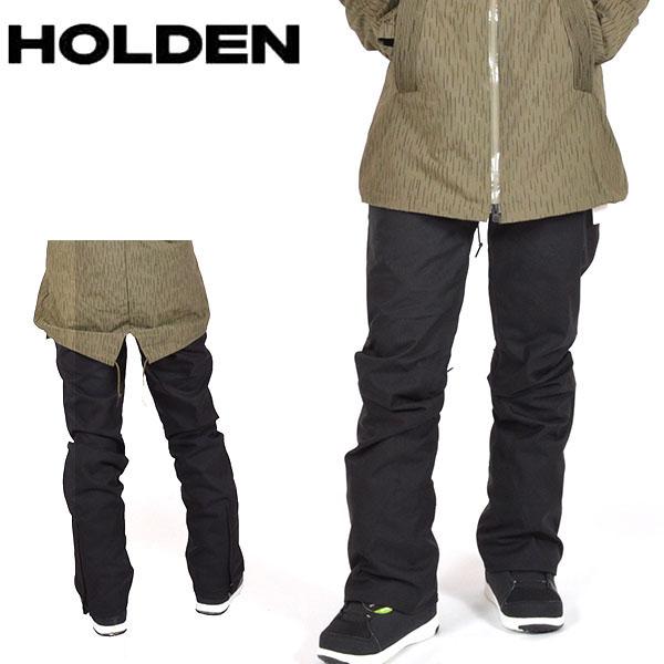 送料無料 スノーボードウェア HOLDEN ホールデン WS SKINNY STANARD PANTS レディース パンツ ブラック 黒 スノボ スノーボード ボトムス レディース 得割20