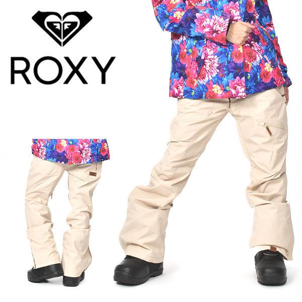 送料無料 ロキシー スノーボードウェア ROXY レディース パンツ FLAVOR PANT ベージュ スノーボード スノボ ウェア スノーパンツ ERJTP03097 25%off