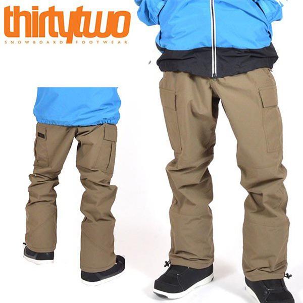 送料無料 スノーボードウェア ThirtyTwo 32 サーティー トゥー FATIGUE PANTS メンズ パンツ スノボ スノーボード ボトムス メンズ サーティーツー 得割20