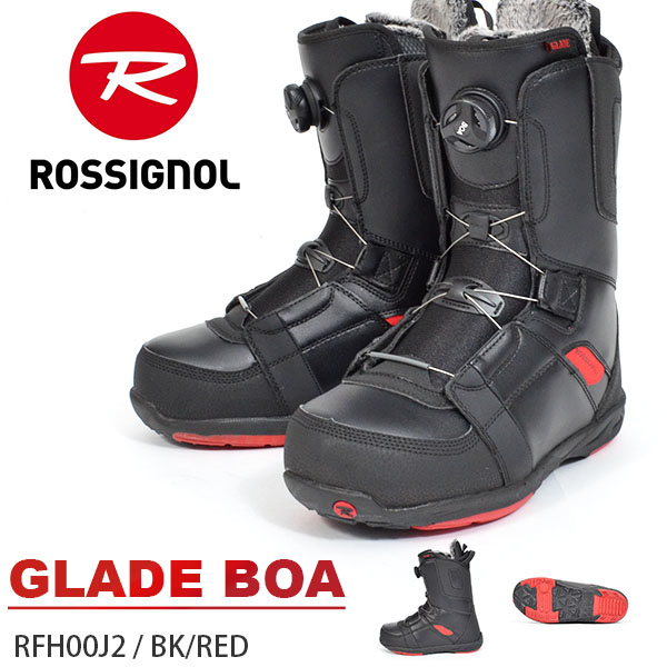 送料無料 ROSSIGNOL ロシニョール スノーボード ブーツ スノボ GLADE BOA ボア RFH00J2 メンズ ブーツ 正規代理店品 45%off
