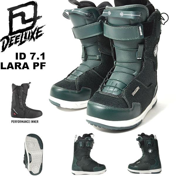 送料無料 ディーラックス DEELUXE スノーボード ブーツ ID 7.1 LARA PF レディース アイディー ララ スノボ PF ノーマルインナー SNOWBOARD 18/19 25%off