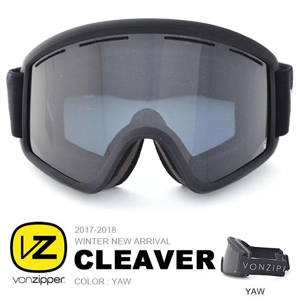 送料無料 スノーゴーグル VONZIPPER ボンジッパー メンズ レディース CLEAVER クレーバー ジャパンフィット 日本正規品 平面レンズ スノーボード スノボ スキー スノー ゴーグル 25%off