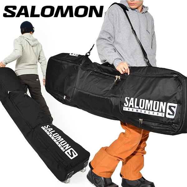 送料無料 SALOMON サロモン ボードケース TRVL BC PRO ボードバッグ 149cm 160cm スノーボード 板収納 TRVL BOARD CASE スノボ スノー バッグ キャスター ローラー コロコロ キャリーバッグ BAG 2019-2020冬新作 19-20 19/20 20%off