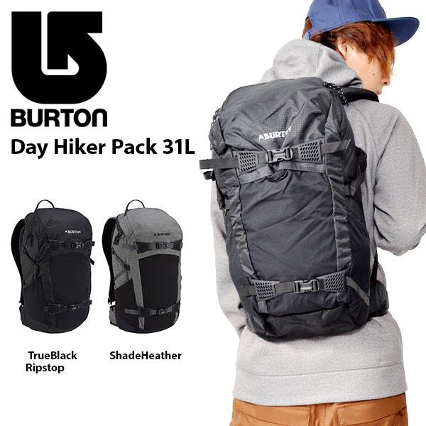 送料無料 バックパック バートン BURTON Day Hiker Pack 31L メンズ レディース リュックサック バッグ かばん スノボ スノーボード スキー SNOWBOARD SKI 旅行 アウトドア 172921 2018-2019冬新作 18-19 18/19 10%off
