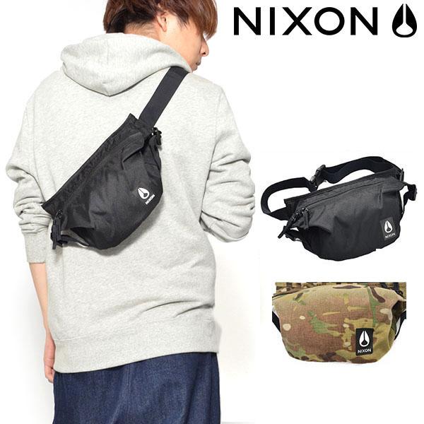 送料無料 限定 ウエストバッグ NIXON ニクソン TRESTLES HIP PACK BAG 3L ボディバッグ ウエスト ポーチ スリングパック ヒップバッグ メンズ レディース スケート バッグ BAG かばん 鞄 カバン