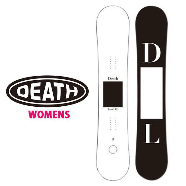 送料無料 スノー ボード 板 DEATH LABEL デスレーベル TRUST GIRLS LTD WHITE レディース スノーボード スノボ パーク 139 143 20%off