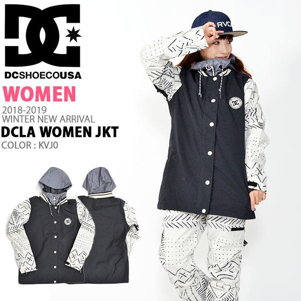 35%off 送料無料 スノージャケット DC Shoes ディーシー シューズ レディース DCLA WOMEN JKT ロゴ スタジャン スノーボード スノボ スキー スノー ウェア ウエア ジャケット ディーシーシュー