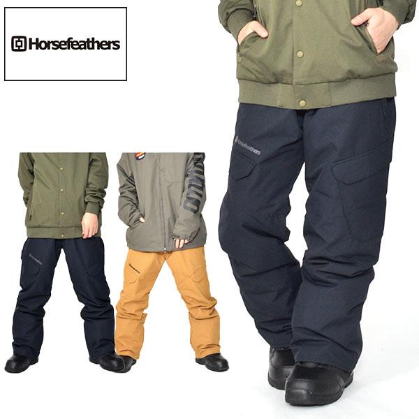 送料無料 スノーボードウェア HORSEFEATHERS フォースフェザース VOYAGER PANTS メンズ ボイジャー パンツ スノボ スノーボード ボトムス メンズ 18/19 得割30