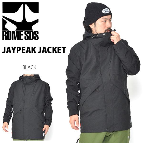 送料無料 スノーボードウェア ROME SDS ローム JAYPEAK JACKET メンズ ジャケット スノボ スノーボード スノーウェア シャツ コーチ 30%off