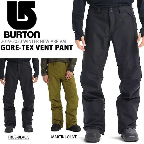 送料無料 スノーボードウェア バートン BURTON GORE-TEX Vent Pant メンズ パンツ GORE-TEX ゴアテックス スノボ スノーボード スノーボードウエア SNOWBOARD WEAR スキー 2019-2020冬新作 19-20 19/20 10%off