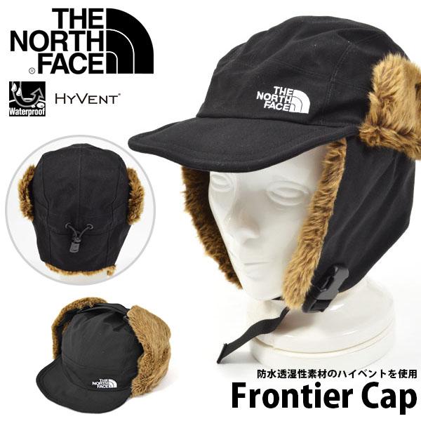 送料無料 あごまで防寒 キャップ THE NORTH FACE ザ・ノースフェイス Frontier Cap フロンティア キャップ 帽子 ケーバ 2019秋冬新色 フライトキャップ スノー 登山 雪山 フィッシング nn41708