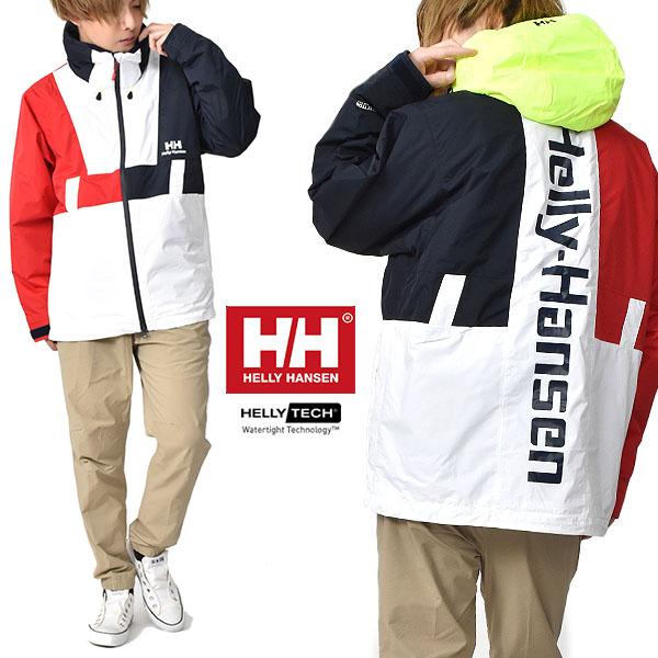 送料無料 防水 ナイロン ジャケット HELLY HANSEN ヘリーハンセン Formula Vertical Jacket フォーミュラー バーティカル ジャケット メンズ hh11961