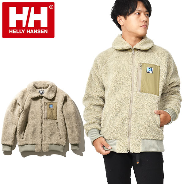 送料無料 モコモコ フリース ジャケット HELLY HANSEN ヘリーハンセン FIBERPILE THERMO Jacket ファイバーパイル サーモ ジャケット メンズ 胸ポケット 防風 得割15 heo51964