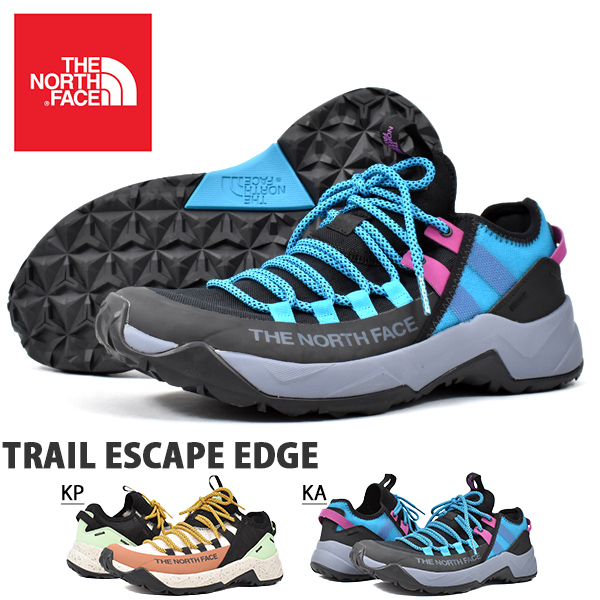 送料無料 トレイルシューズ THE NORTH FACE ザ・ノースフェイス Trail Escape Edge トレイル エスケープ エッジ メンズ アウトドア スニーカーnf01980