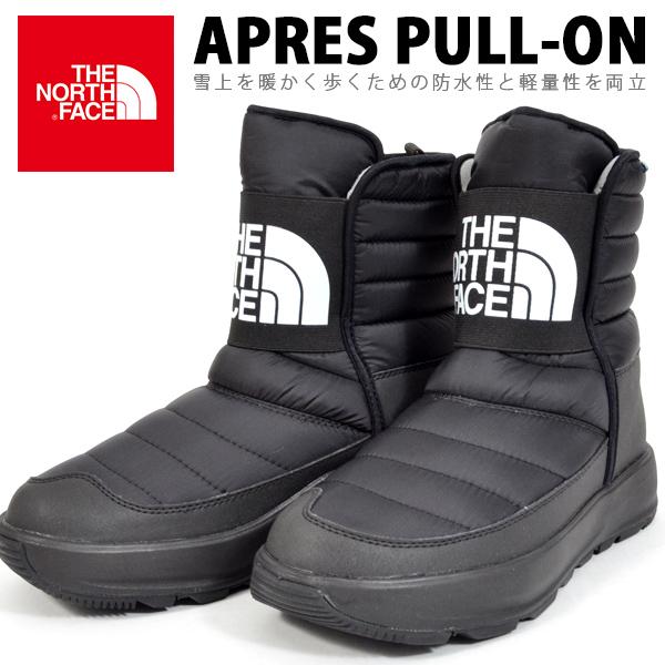 送料無料 ビッグロゴ ブーツ ザ・ノースフェイス THE NORTH FACE Apres Pull-On アプレ プルオン メンズ レディース アウトドア スノー シューズ スノトレ 靴 nf51881 ザ ノースフェイス 防水