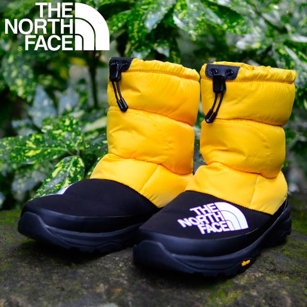 Nuptse Down Bootie ヌプシ ダウン ブーティー 送料無料 THE NORTH FACE ザ・ノースフェイス メンズ レディース ブーツ 靴 ダウン素材 防寒 撥水 ビッグロゴ 2019秋冬新色 nf51877