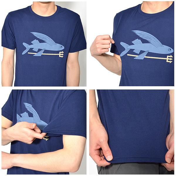 半袖Tシャツ Patagonia パタゴニア Mens Flying Fish Organic T-Shirt メンズ フライング フィッシュ オーガニック Tシャツ 日本正規品 2018春夏新作 トビウオ