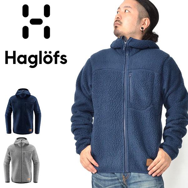 送料無料 フリース ジャケット Haglofs ホグロフス PILE HOOD MEN パイル フード メンズ 保温 アウトドア クライミング Polartec 604137 防寒