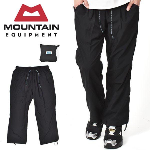 送料無料 日本別注 撥水 速乾 ナイロンパンツ MOUNTAIN EQUIPMENT マウンテンイクイップメント メンズ PUCKERING PANTS パッキング パンツ 2020春夏新作