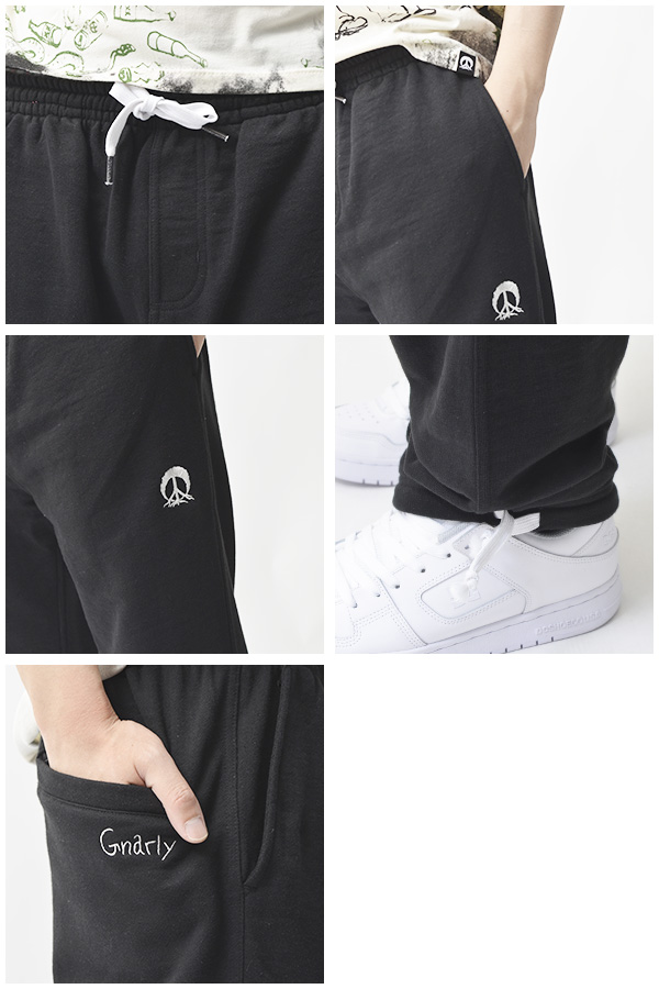 suuettopantsunari GNARLY TRACK PANT運動衫單板滑雪運動衫褲子人紳士單板滑雪雪SNOWBOARD國內正規的物品