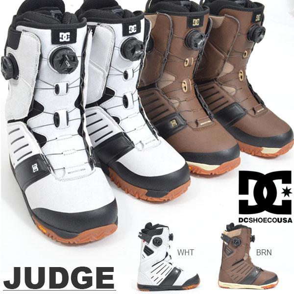 送料無料 スノーブーツ DC SHOE ディーシー メンズ JUDGE スノーボード スノボ スノー ブーツ ウィンタースポーツ 国内正規代理店品 18/19 20%off