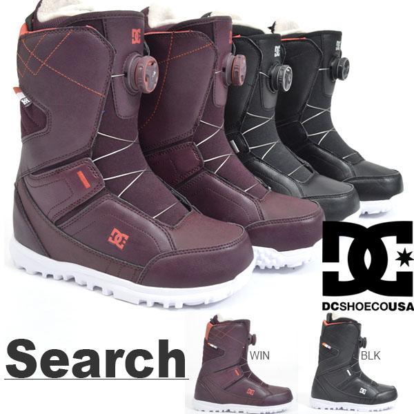 30%off 送料無料 スノーブーツ DC SHOE ディーシー レディース Search スノーボード スノボ スノー ブーツ ウィンタースポーツ 国内正規代理店品