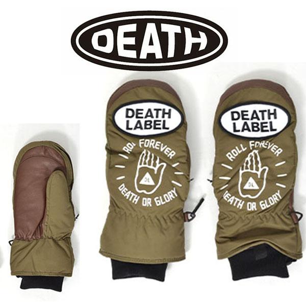 最后1分DEATH LABEL死亡标签手套连指手套IRONFIST MITT单板滑雪单板滑雪雪滑雪国内正规的物品手套20%off