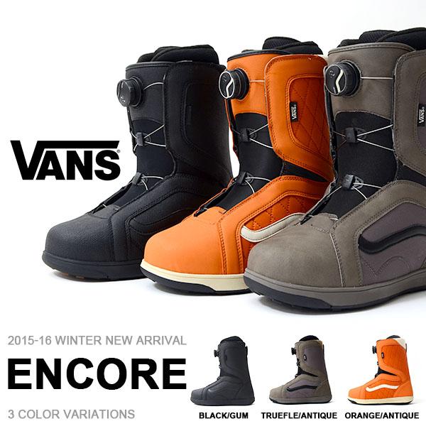 得割40 送料無料 スノーブーツ VANS バンズ ヴァンズ メンズ ENCORE スノーボード スノボ スノー ブーツ ウィンタースポーツ 国内正規代理店品